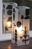 Lampe / Lampe Noir. <BR><I>Lamp / Lamp Black.</I>