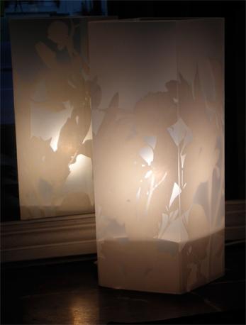 Lampe Chardin Blanc. <BR><I>Lamp Chardin White.</I>