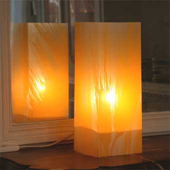 Lampe Blé Jaune. <BR><I>Lamp Ble Yellow.</I>