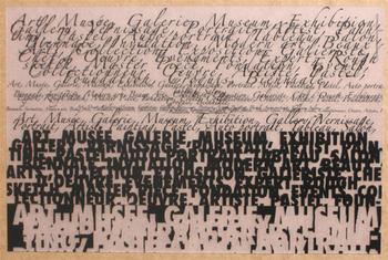 Art Art Translucide Noir. <BR><I>Art Art  Clear Black.</I>