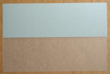 Bi Translucide Argent. <BR><I>Bi Clear Silver.</I>