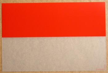Bi Translucide Rouge. <BR><I>Bi Clear Red.</I>