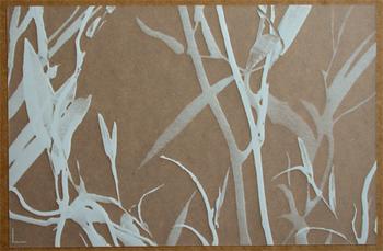 Feuillage Translucide Blanc. <BR><I>Feuillage Clear White.</I>