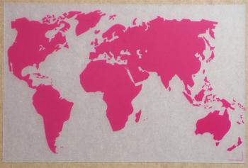 Monde Translucide Rose. <BR>Monde Clear Pink.</I>