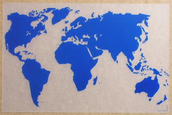 Monde Translucide Bleu. <BR>Monde Clear Blue.</I>
